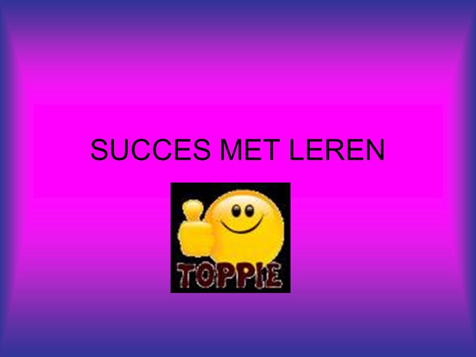 SUCCES MET LEREN