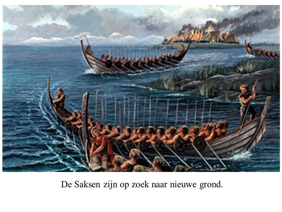 De Saksen zijn op zoek naar nieuwe grond.