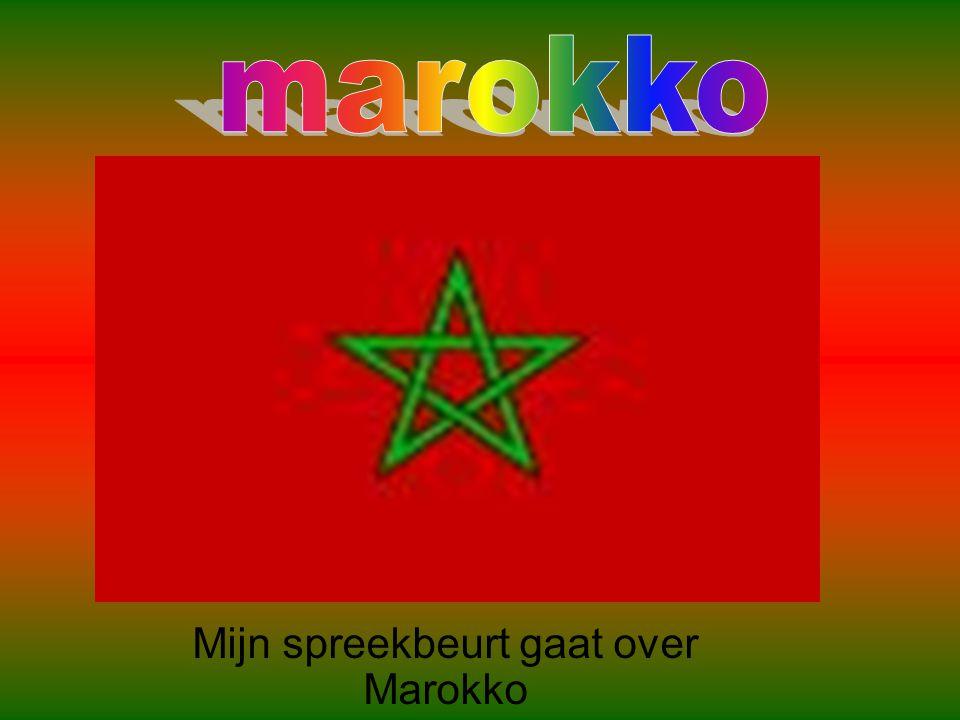 Mijn spreekbeurt gaat over Marokko