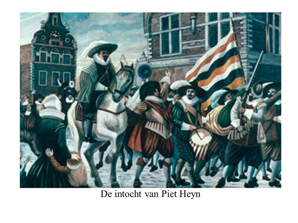 De intocht van Piet Heyn