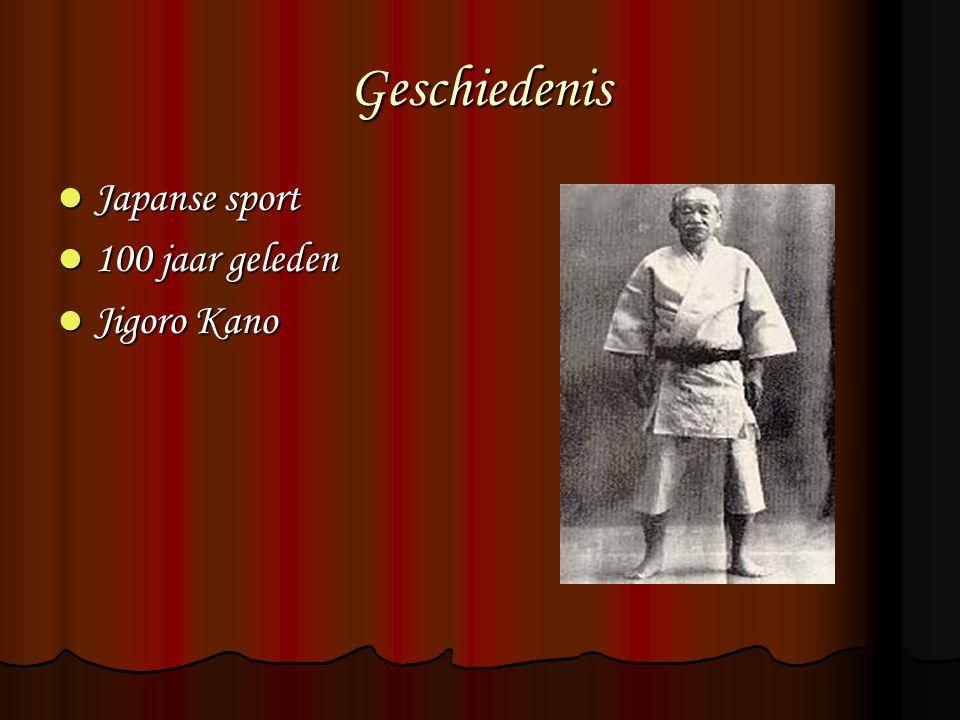 Geschiedenis Japanse sport Japanse sport 100 jaar geleden 100 jaar geleden Jigoro Kano Jigoro Kano