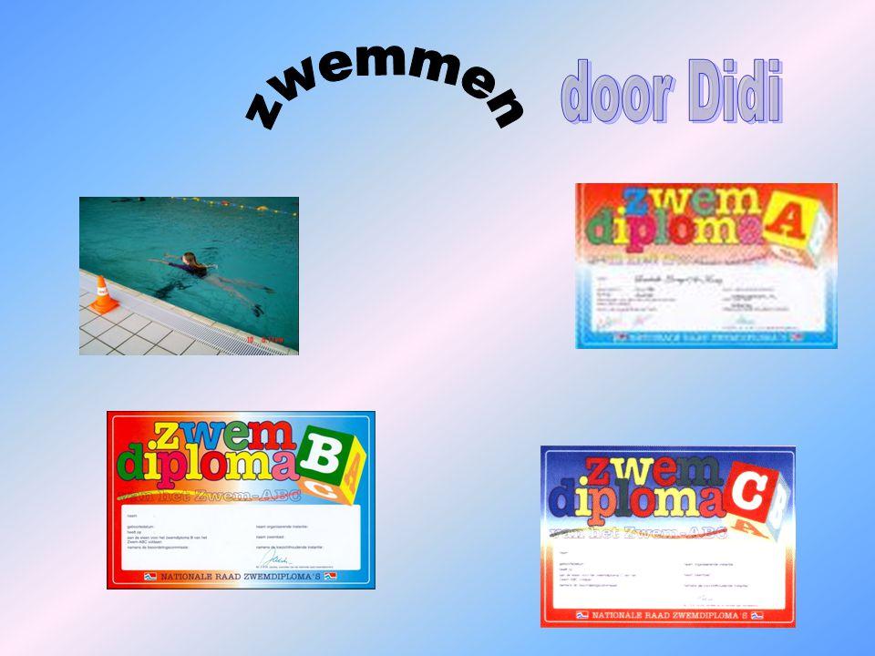 1.hoeveel diploma's zij er ?. 2. waar ontstond de eerste zwemorganisatie?.