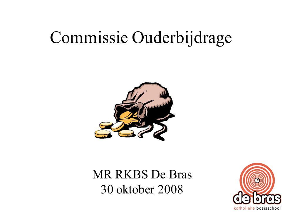 1.Het doel v.d. commissie Onderzoeken wat een adequate ouderbijdrage kan zijn.