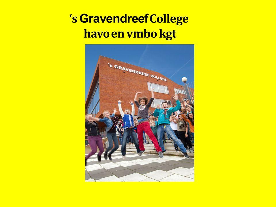 's Gravendreef College havo en vmbo kgt