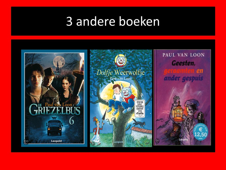 3 andere boeken