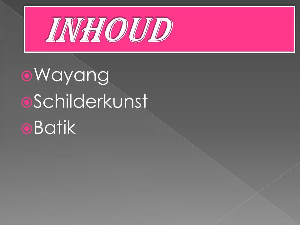  Wayang  Schilderkunst  Batik
