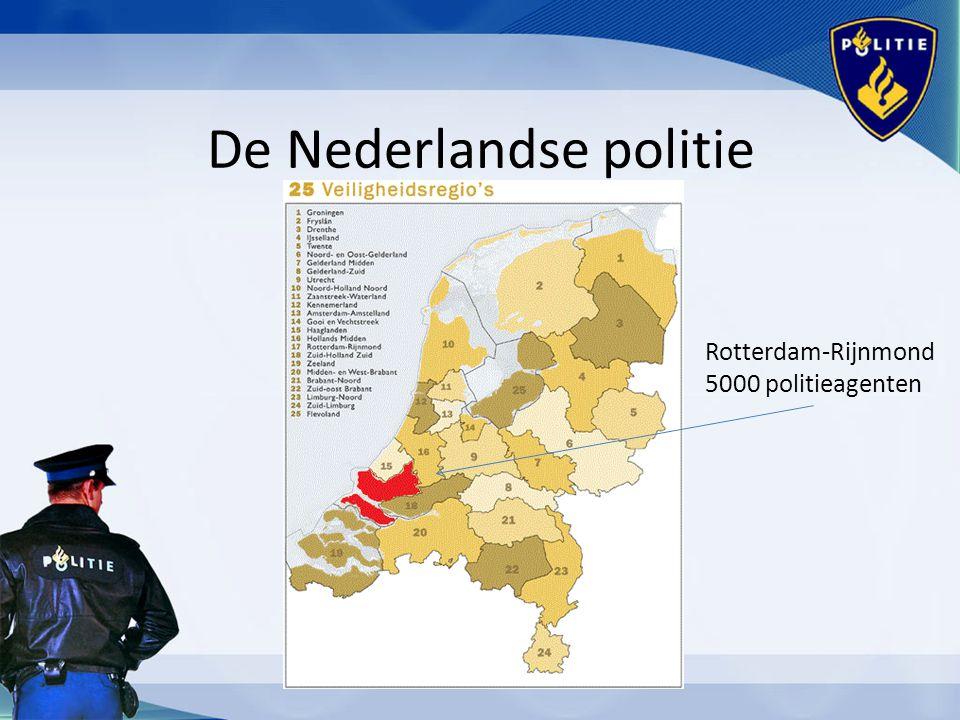 Rotterdam-Rijnmond 5000 politieagenten