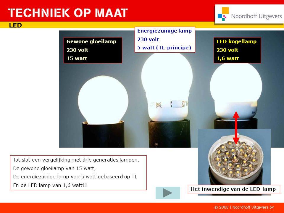 Haal je de lamp uit de houder of valt de spanning weg, dan geeft hij gewoon wit licht. Een ideale lamp als veiligheidslamp. LED Een bijzondere zaklant