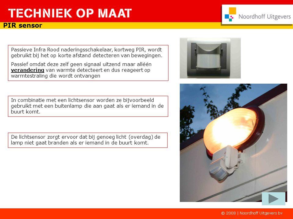 In combinatie met een lichtsensor worden ze bijvoorbeeld gebruikt met een buitenlamp die aan gaat als er iemand in de buurt komt.
