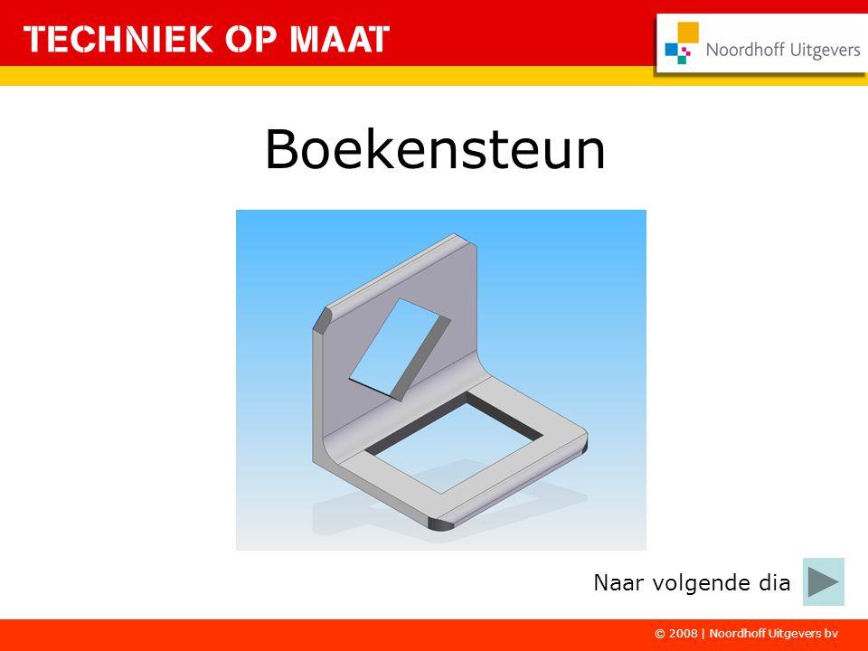 © 2008 | Noordhoff Uitgevers bv Boekensteun Naar volgende dia
