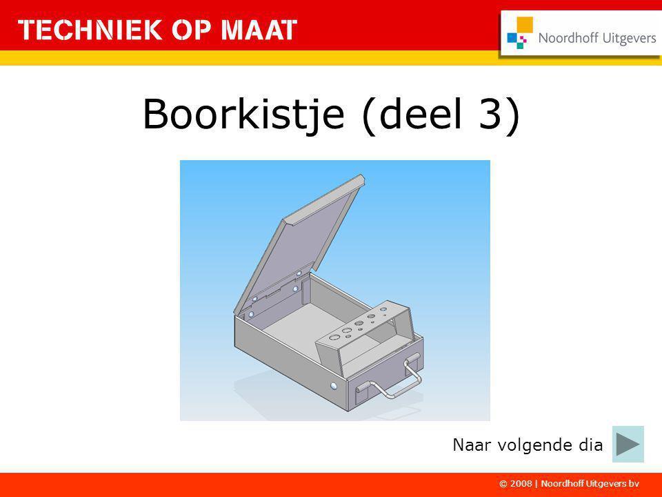 © 2008 | Noordhoff Uitgevers bv Boorkistje (deel 3) Naar volgende dia