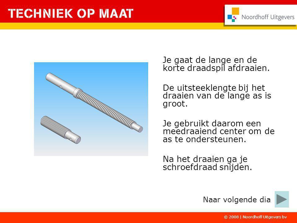 © 2008   Noordhoff Uitgevers bv Van aluminium ga je de knoppen draaien.