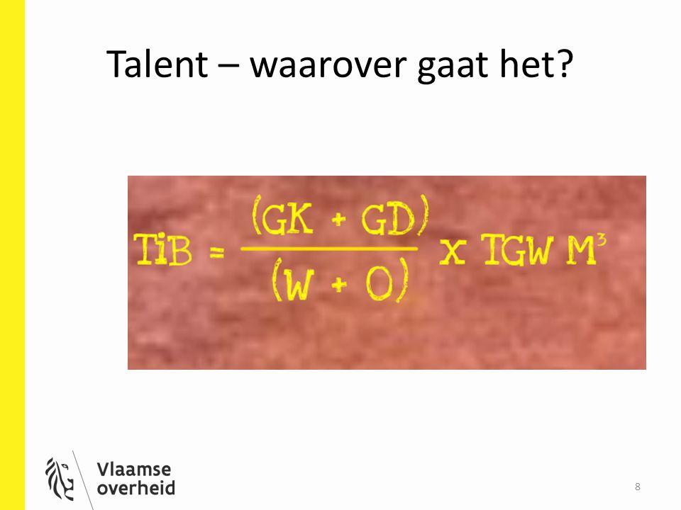Talent – waarover gaat het? 8