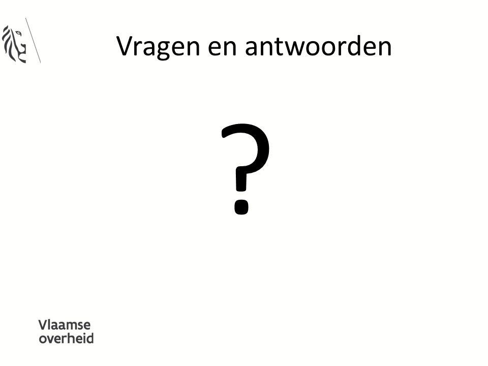 Vragen en antwoorden ?
