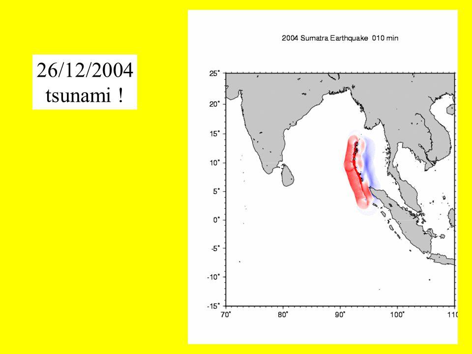 26/12/2004 tsunami !