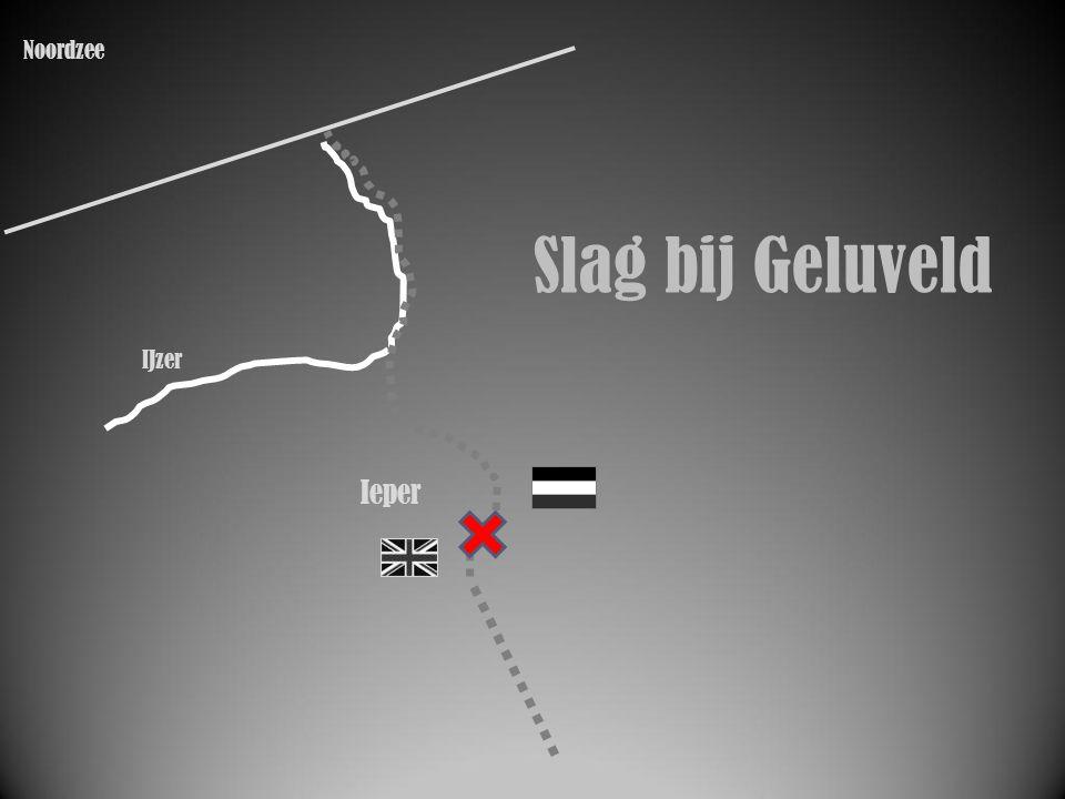 IJzer Ieper Slag bij Geluveld Noordzee