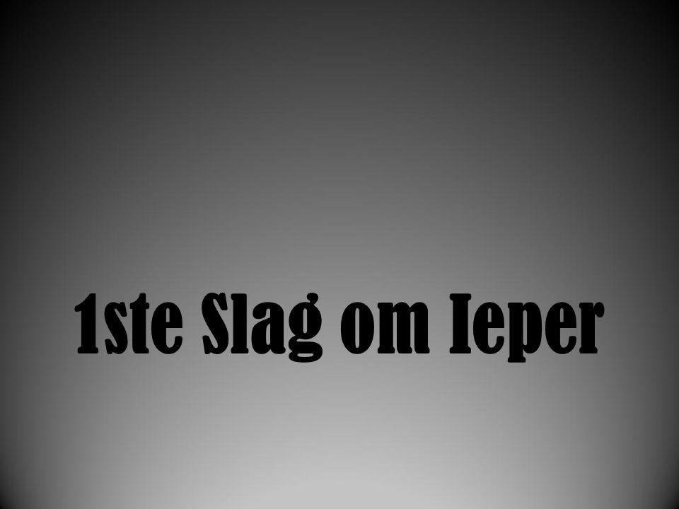1ste Slag om Ieper