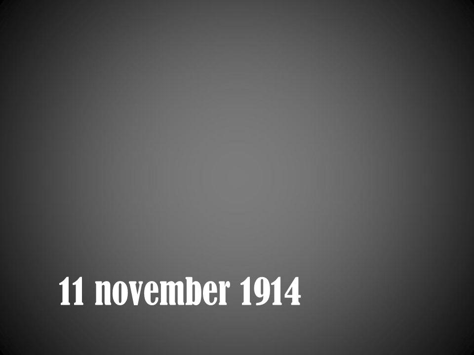 11 november 1914
