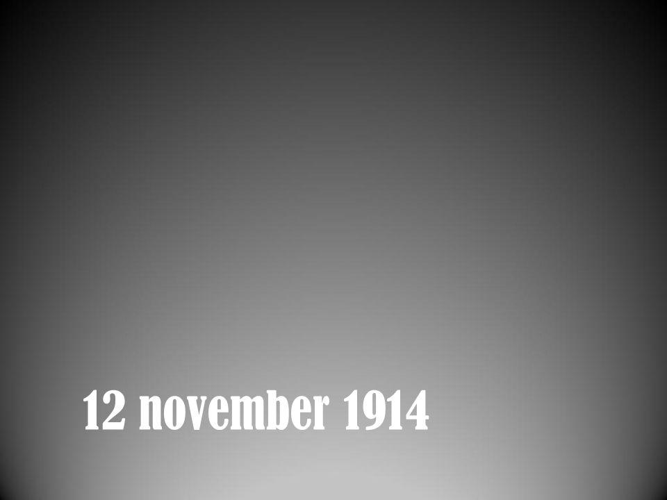 12 november 1914