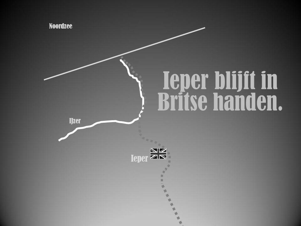 IJzer Ieper Ieper blijft in Britse handen. Noordzee