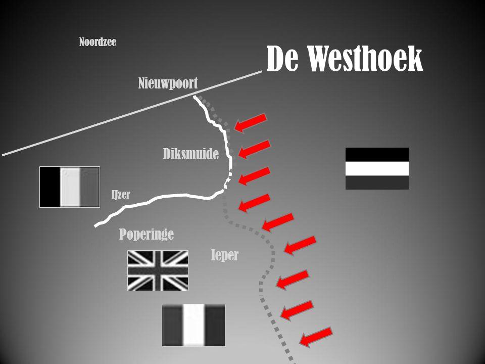 IJzer Ieper Slag bij Langemark Noordzee