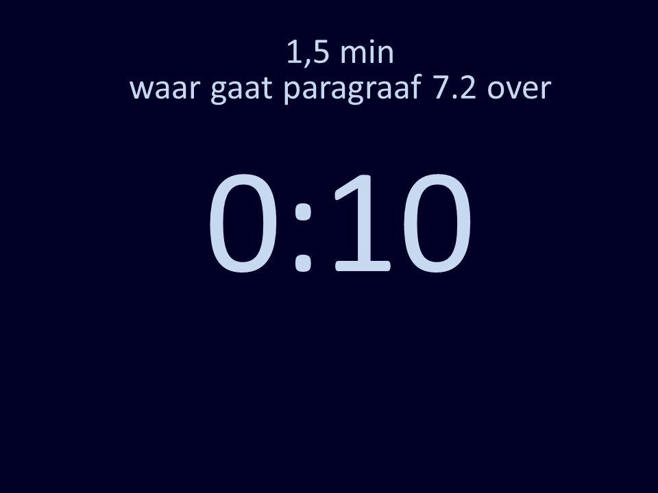 1,5 min waar gaat paragraaf 7.2 over 0:10