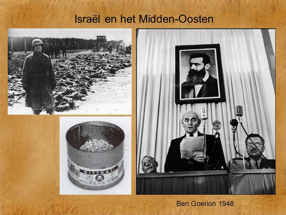 Israël en het Midden-Oosten Ben Goerion 1948