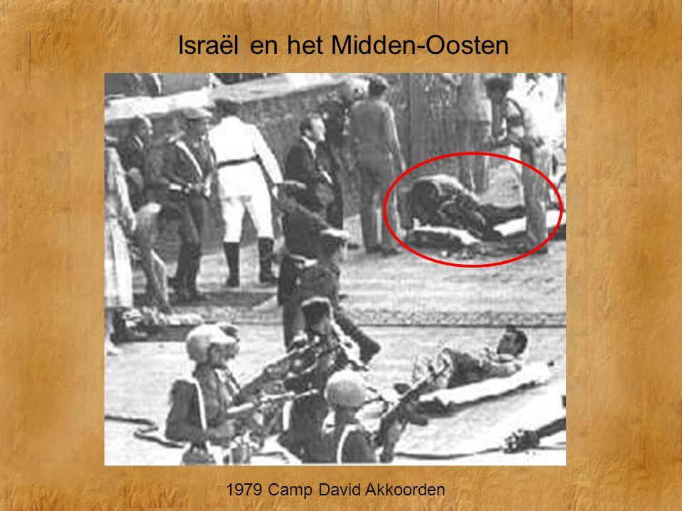 Begin Sadat Carter 1979 Camp David Akkoorden
