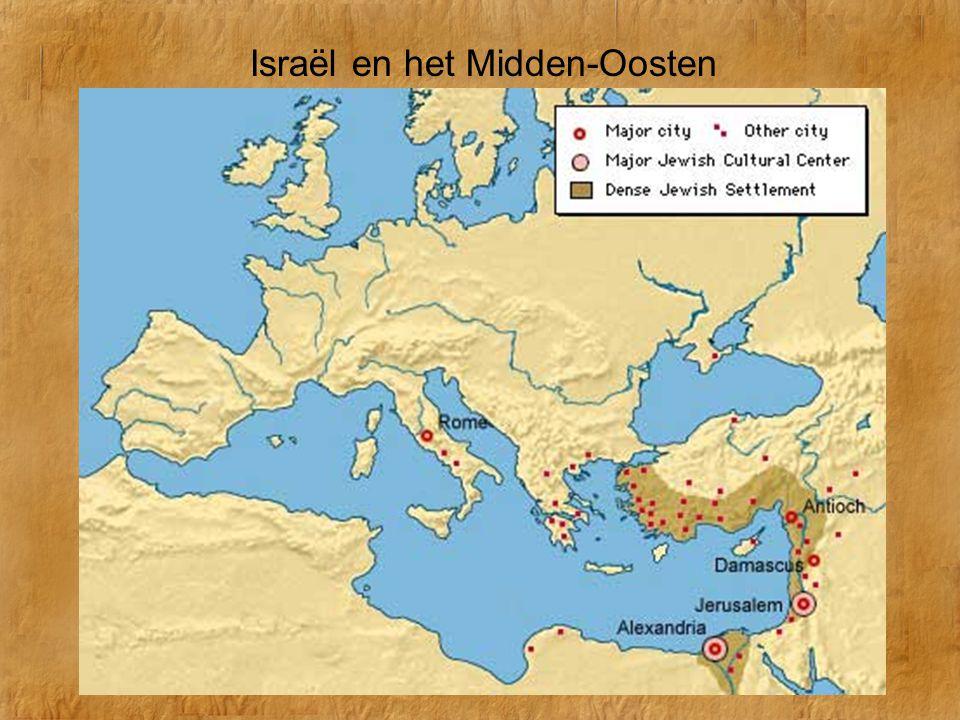 Israël en het Midden-Oosten In de 1 e eeuw n.Chr.