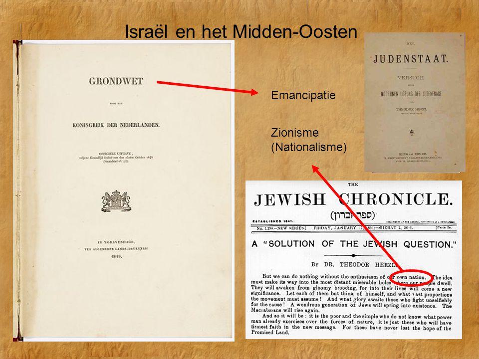 Na W.O.II riep Ben Goerion in 1948 de … staat uit.
