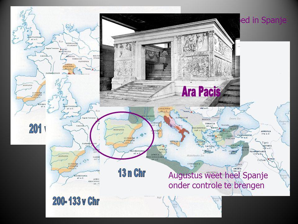 2e Punische oorlog (218-201 ) 201 Scipio verslaat Hannibal