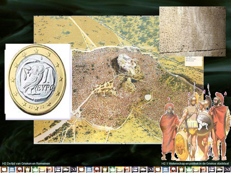 H2 De tijd van Grieken en RomeinenH2.1 Wetenschap en politiek in de Griekse stadstaat