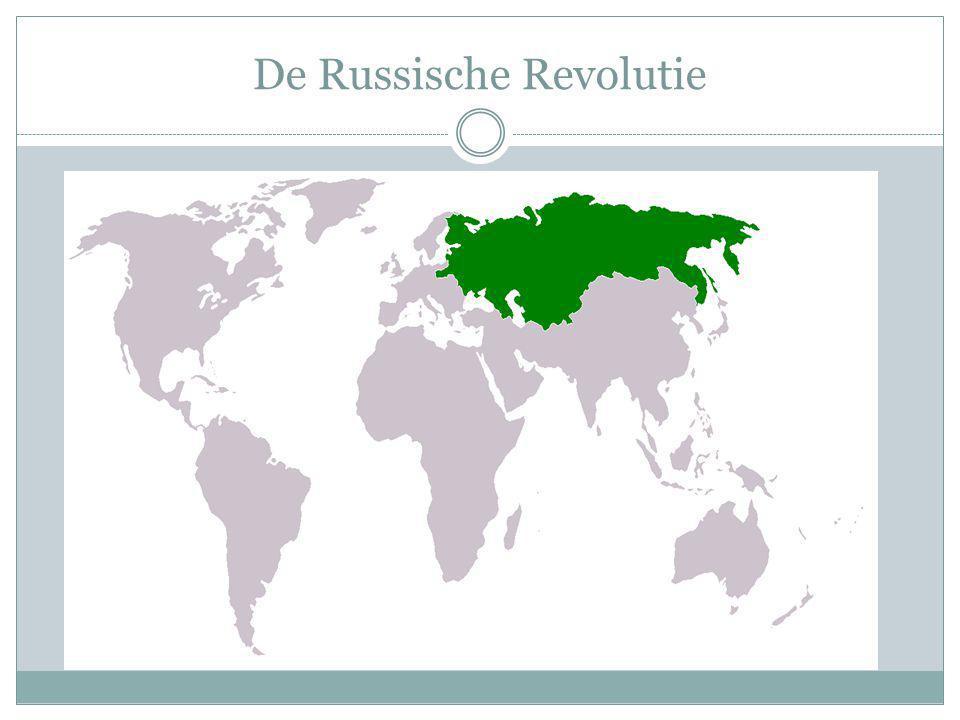 Een nieuwe staat In 1922 werd de Sovjet-Unie opgericht.