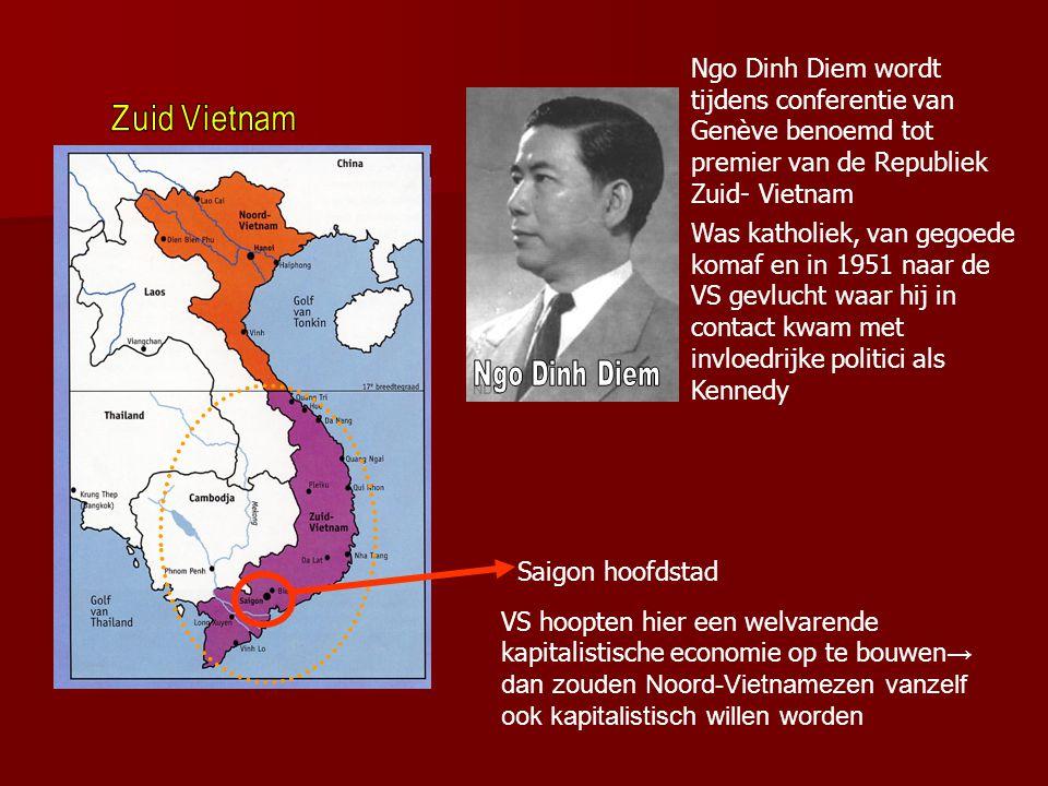 Economisch beleid Noord- Vietnam  Economie stond er slecht voor → 800.000 mensen gevlucht naar Zuid- Vietnam, meestal welvarende, goed opgeleide mens
