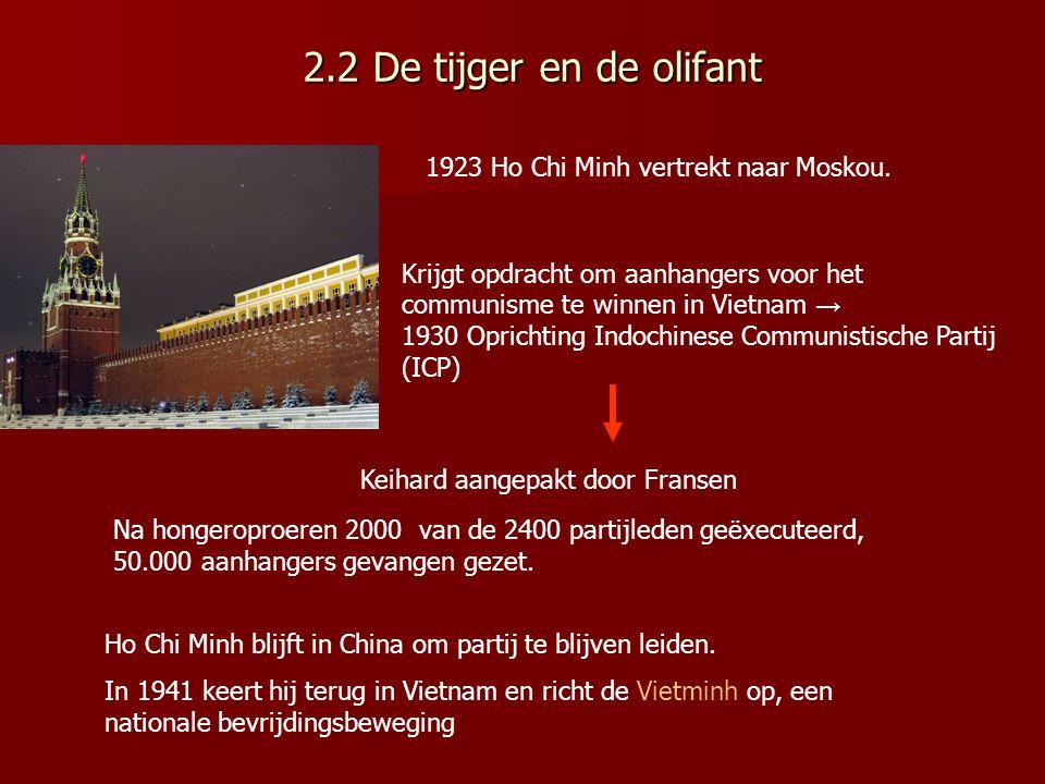 reacties Ontevreden:Vietnam wordt niet herenigd en Vietminh moet grondgebied inleveren Tevreden met uitkomst; voorkomen dat heel Vietnam communistisch is geworden.