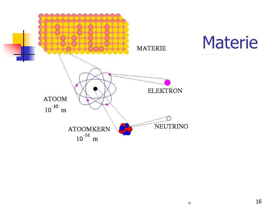 15 Materie
