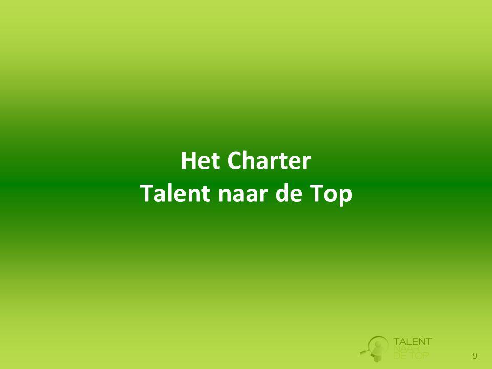 9 Het Charter Talent naar de Top