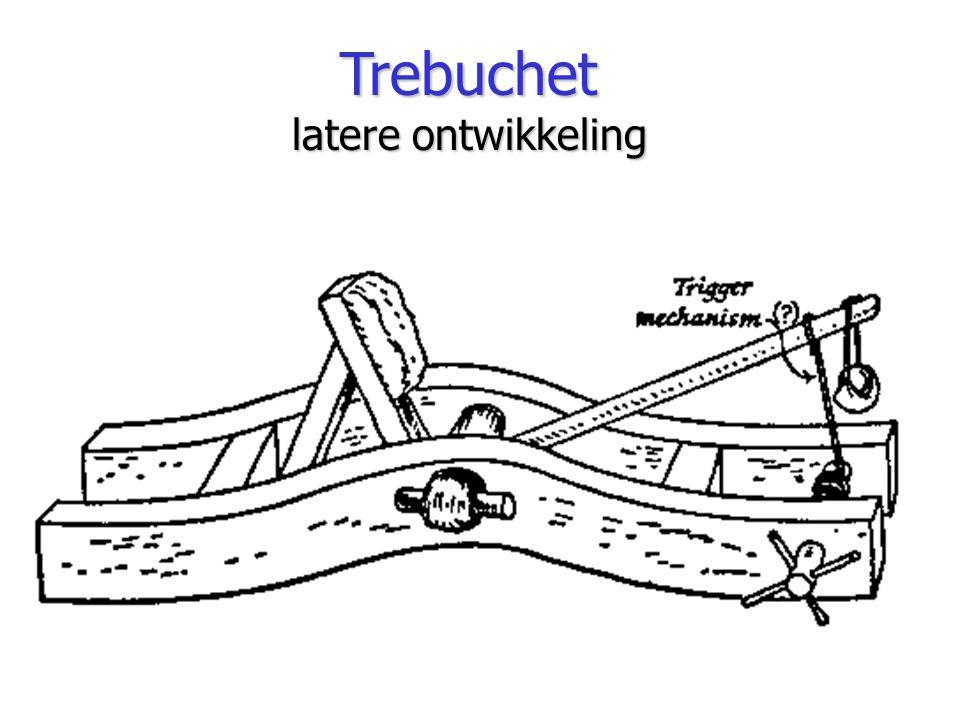 Trebuchet latere ontwikkeling