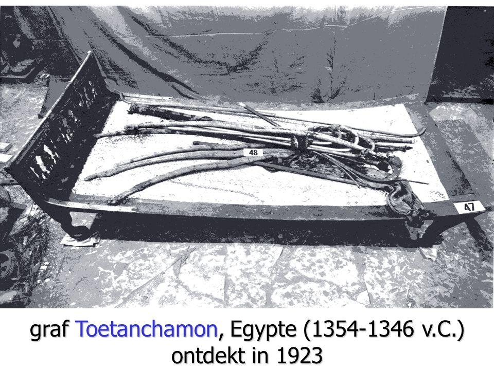 graf Toetanchamon, Egypte (1354-1346 v.C.) ontdekt in 1923