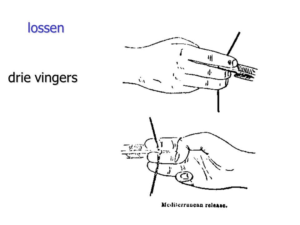drie vingers lossen