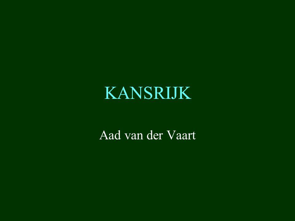 KANSRIJK Aad van der Vaart