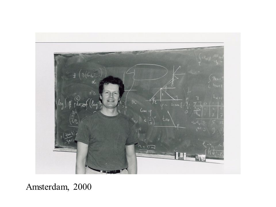Amsterdam, 2000