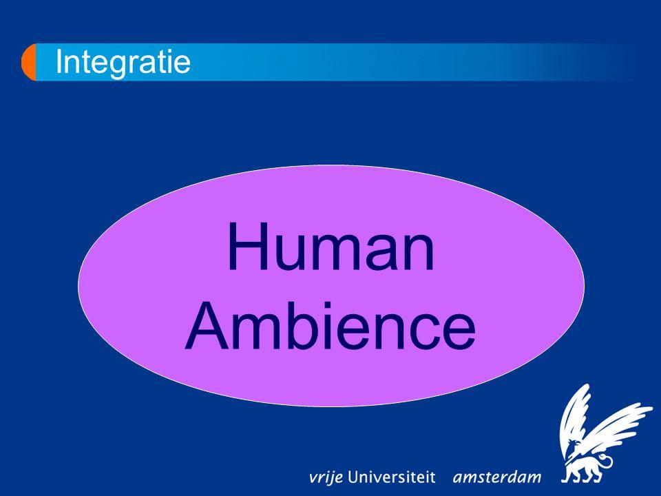 Integratie Human Ambience