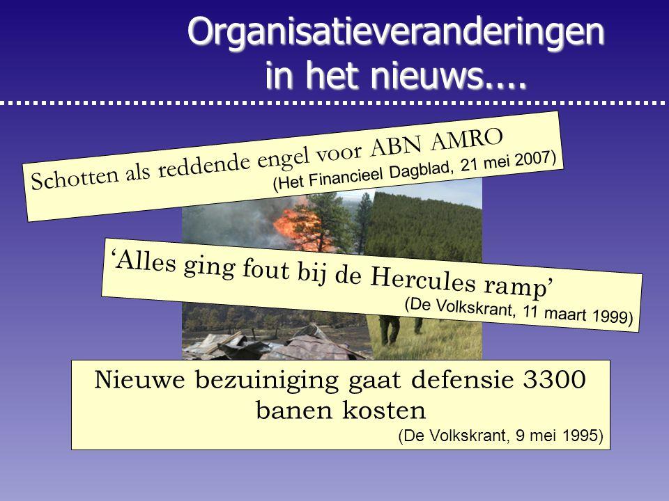 2 Schotten als reddende engel voor ABN AMRO (Het Financieel Dagblad, 21 mei 2007) 'Alles ging fout bij de Hercules ramp' (De Volkskrant, 11 maart 1999