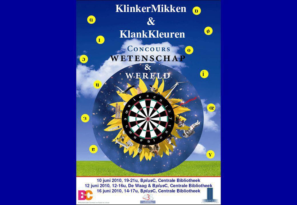 7 jun 2012 Klinkerarticulatie35 ACOUSTISCH KLINKERDIAGRAM  Diagrammen zijn nuttig gereedschap bij vreemde-talenonderwijs  Automatische klinkerherkenning is mogelijk en kan dienen als hulpmiddel bij uitspraakonderwijs (klinkercorrector)  Dit is wat KlinkerMikken beoogt