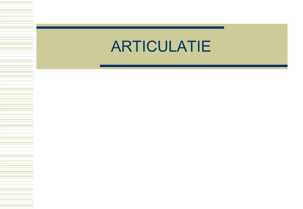 ARTICULATIE