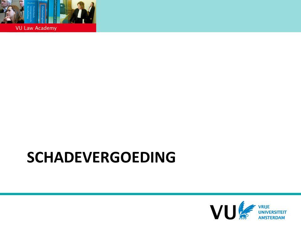 SCHADEVERGOEDING