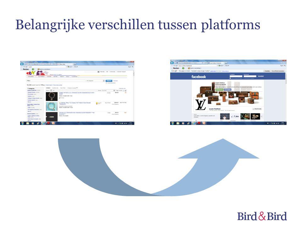 Belangrijke verschillen tussen platforms