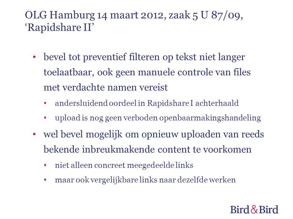 bevel tot preventief filteren op tekst niet langer toelaatbaar, ook geen manuele controle van files met verdachte namen vereist andersluidend oordeel
