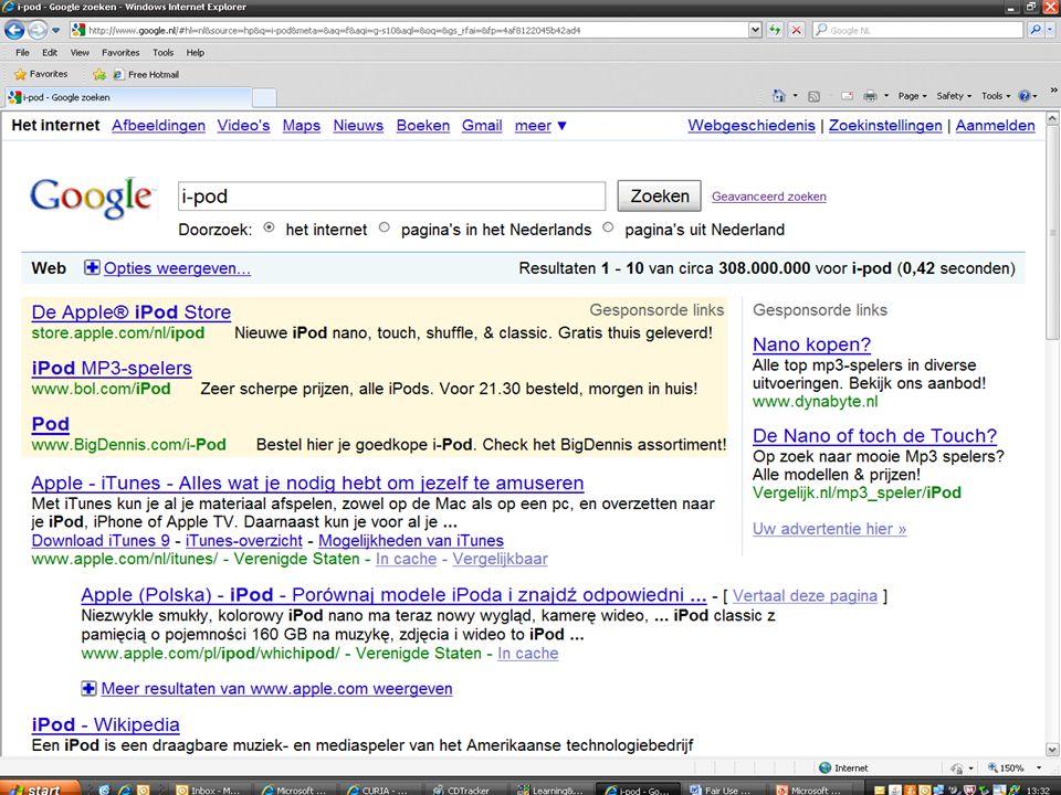 HvJ EU, 23 maart 2010, zaak C-236/08, Google/Louis Vuitton